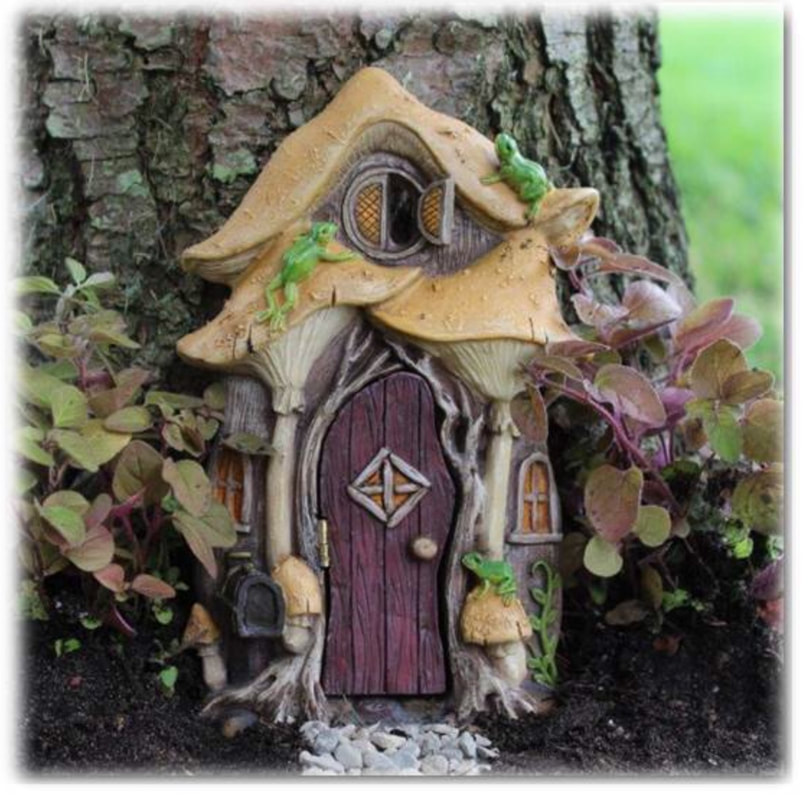 Miniature Fairy Garden doors